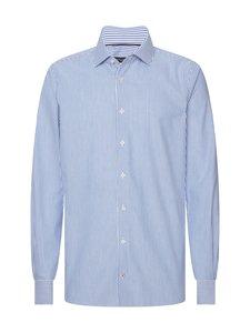 Tommy Hilfiger Tailored - Stripe Classic Slim -kauluspaita - 0GY BLUE/WHITE   Stockmann