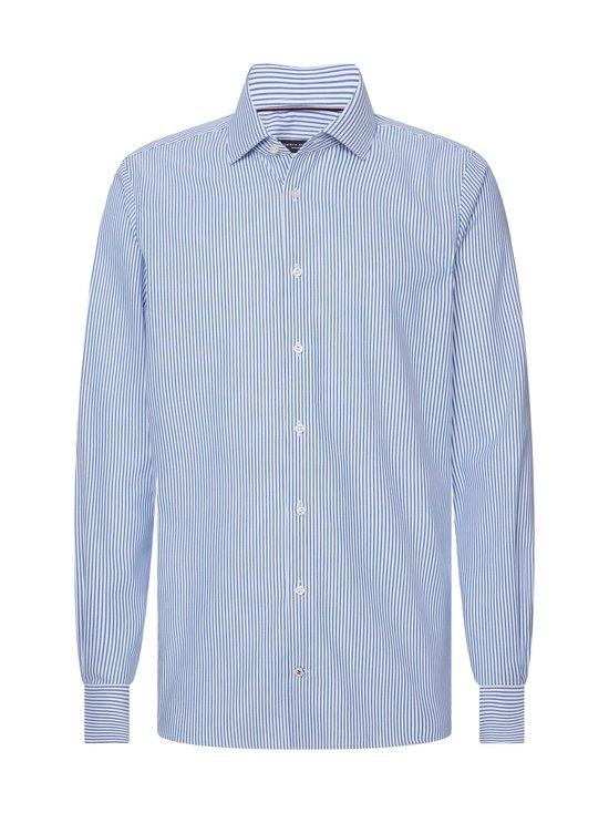 Tommy Hilfiger Tailored - Stripe Classic Slim -kauluspaita - 0GY BLUE/WHITE | Stockmann - photo 1