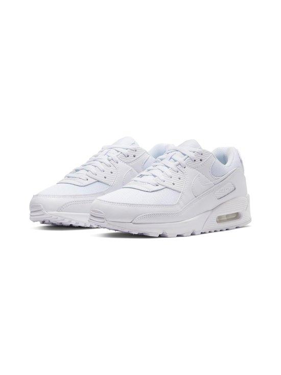Nike - Air Max 90 -sneakerit - WHITE/WHITE-WHITE-WOLF GREY | Stockmann - photo 4