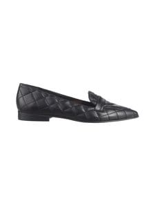 Flattered - Alexandra Quilted -nahkaloaferit - 001 BLACK | Stockmann