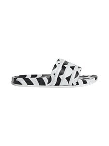 adidas x Marimekko - Adilette-sandaalit - CBLACK/FTWWHT/TEREMA CORE BLACK/FTWR WHITE/TEAM REAL MAGENTA | Stockmann
