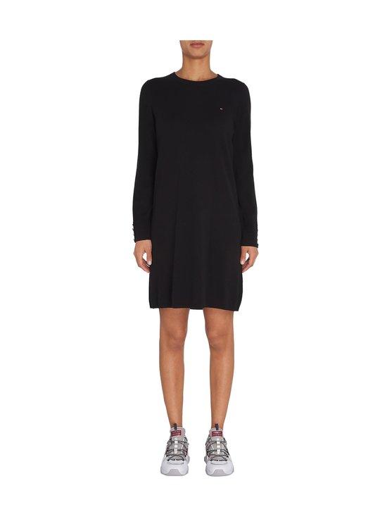 Tommy Hilfiger - Soft Cotton Dress -mekko - BDS BLACK | Stockmann - photo 3