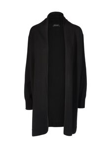 SAND Copenhagen - Fellini F-Josie Long cardigan -merinovillaneuletakki - 200 BLACK | Stockmann