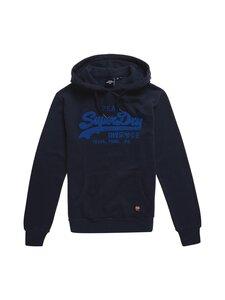 Superdry - Vintage Logo Chenille Hood -huppari - 09S NAUTICAL NAVY | Stockmann