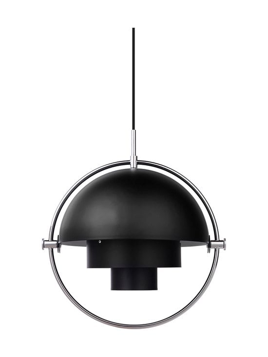 Gubi - Multi-Lite Pendant -riippuvalaisin - BLACK SEMI MATT | Stockmann - photo 1