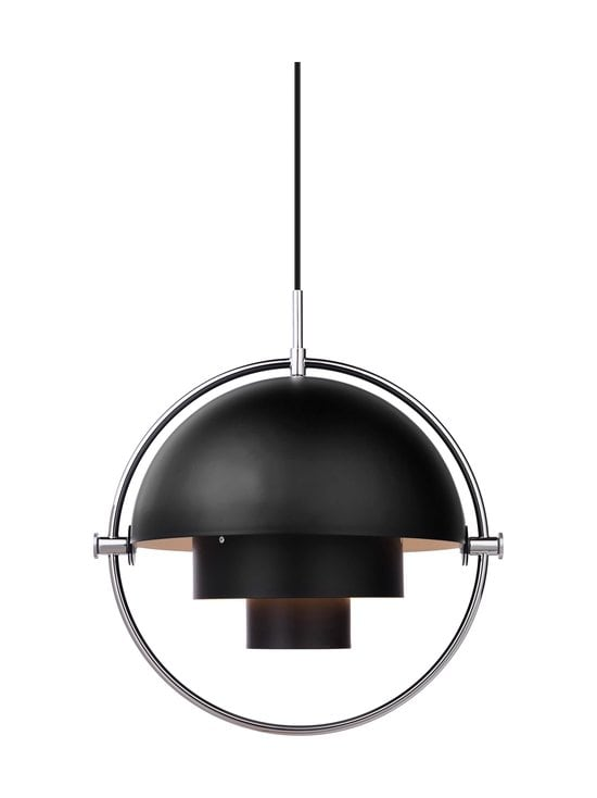 Gubi - Multi-Lite Pendant -riippuvalaisin - BLACK SEMI MATT | Stockmann - photo 2