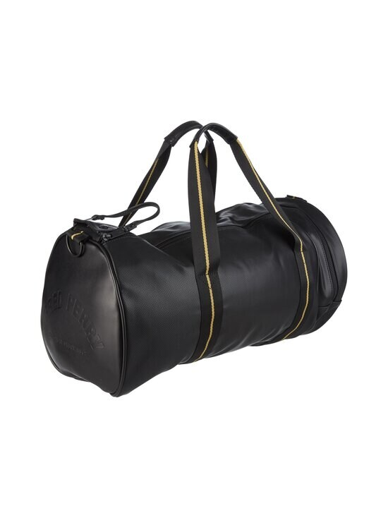 Fred Perry - Pique Texture Barrel Bag -laukku - 102 BLACK   Stockmann - photo 2