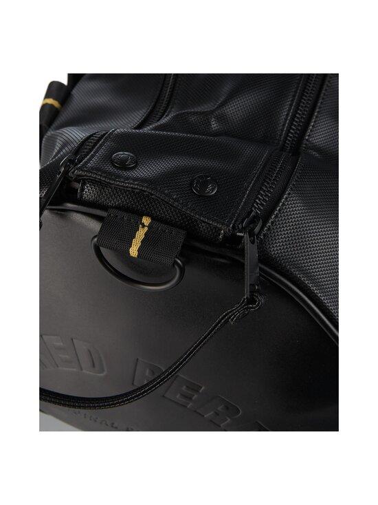Fred Perry - Pique Texture Barrel Bag -laukku - 102 BLACK   Stockmann - photo 3