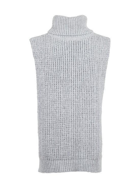 Neo Noir - Jamie Knit Waistcoat -neuleliivi - GREY MELANGE 133 | Stockmann - photo 2