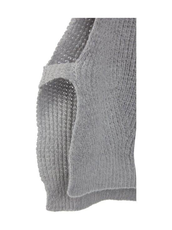 Neo Noir - Jamie Knit Waistcoat -neuleliivi - GREY MELANGE 133 | Stockmann - photo 3