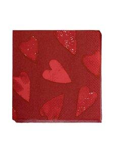 Pentik - Kotisydän-servetti 33 x 33 cm, 20 kpl - RED   Stockmann