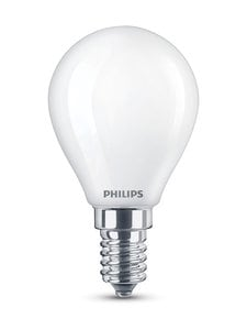 Philips - LED Classic 4,3W(40W) P45 E14 -mainoslamppu - WHITE | Stockmann