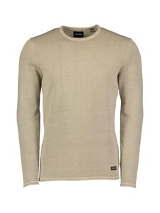 Only & Sons - OnsGarson Life 12 Wash Crew Knit -puuvillaneule - CHINCHILLA | Stockmann