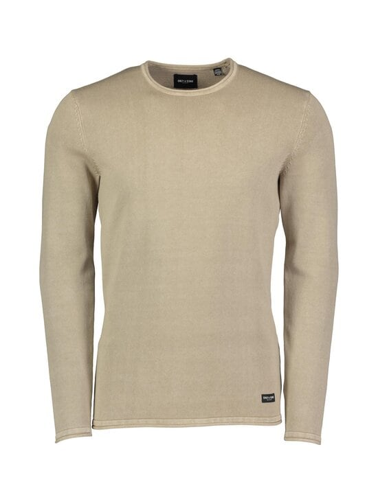 Only & Sons - OnsGarson Life 12 Wash Crew Knit -puuvillaneule - CHINCHILLA | Stockmann - photo 1