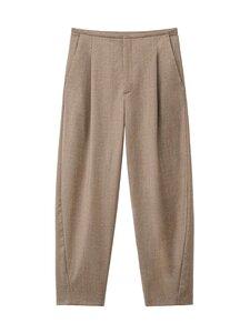 Totême - Wool Flannel -villakangashousut - BEIGE | Stockmann