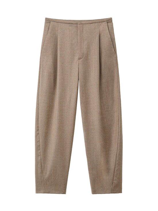 Totême - Wool Flannel -villakangashousut - BEIGE   Stockmann - photo 1