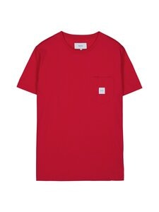 Makia - Square Pocket T-Shirt -paita - 457 RED | Stockmann