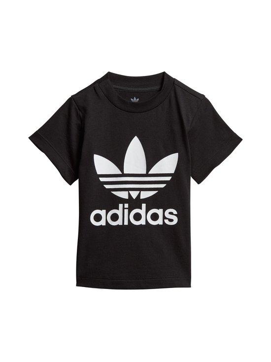 adidas Originals - Trefoil Tee -paita - BLACK/WHITE   Stockmann - photo 1