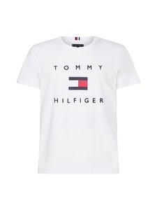Tommy Hilfiger - Organic Cotton Flag T-Shirt -paita - YBR WHITE   Stockmann