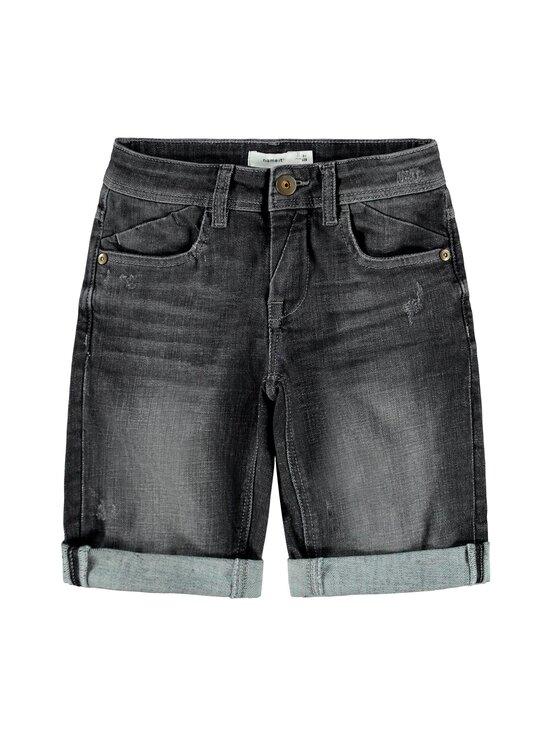Name It - NkmSofus Long Shorts -farkkushortsit - MEDIUM GREY DENIM | Stockmann - photo 1