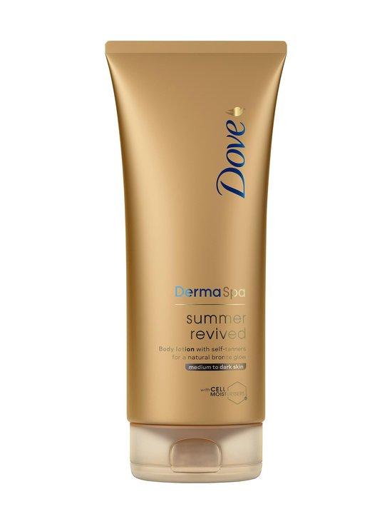 Dove - Summer Revive Gradual Tan Dark -kevyesti itseruskettava vartalovoide 200 ml - null   Stockmann - photo 1