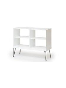 Muurame - Slimmi-kaapisto, Viiva-jalat 104 x 83 x 39 cm - WHITE | Stockmann
