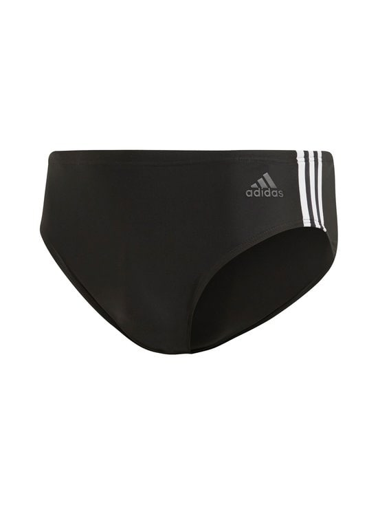 adidas Performance - Fit Training 3-Stripes -uimahousut - BLACK/WHITE | Stockmann - photo 1