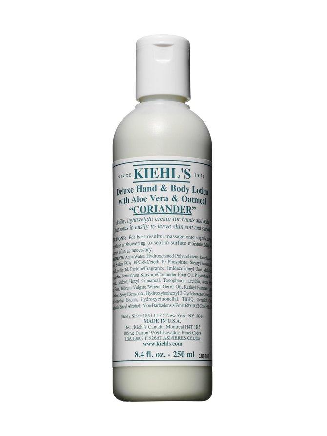 Deluxe Hand & Body Lotion with Coriander -vartaloemulsio 250 ml
