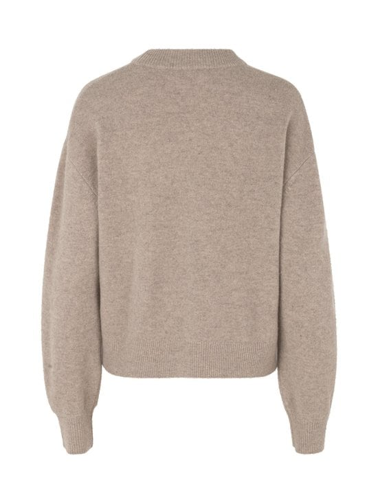 Samsoe & Samsoe - Amaris Crew Neck -villaneule - WARM GREY MEL | Stockmann - photo 2