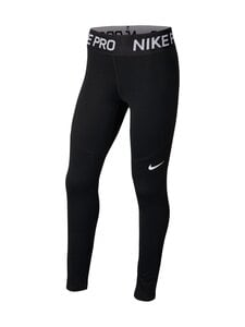 Nike - Pro Warm -leggingsit - BLACK/BLACK/WHITE | Stockmann