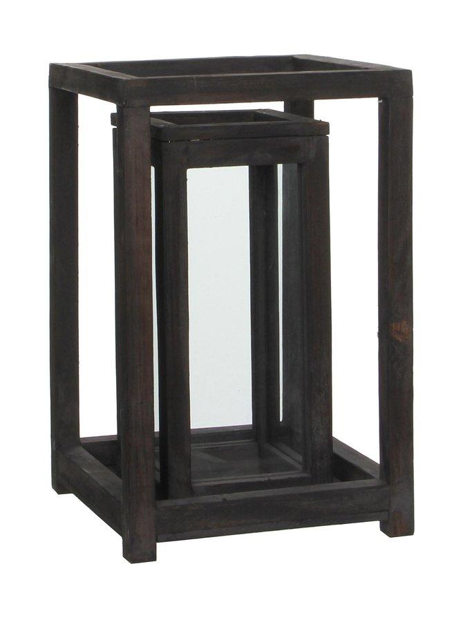Lantern D. Brown -lyhty 20 x 20 x 31 cm