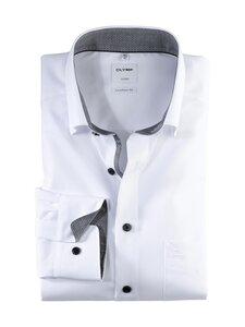 Olymp - Luxor Comfort Fit -kauluspaita - 00 WHITE / GREY | Stockmann
