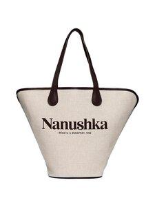 Nanushka - Juno-laukku - NATURAL | Stockmann