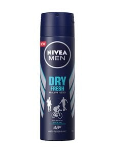 NIVEA MEN - Men Dry Fresh Deo Spray -suihkeantiperspirantti 150 ml | Stockmann