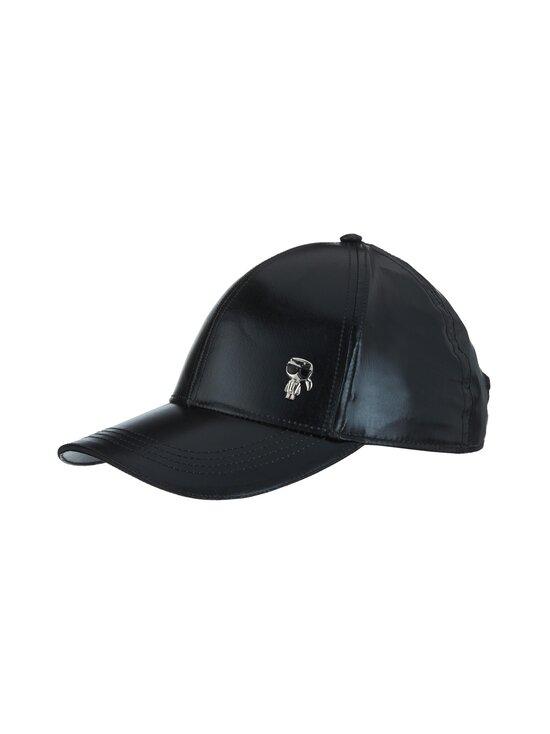 Karl Lagerfeld - K/Ikonik 3D Pin Cap -lippalakki - 999 BLACK | Stockmann - photo 1