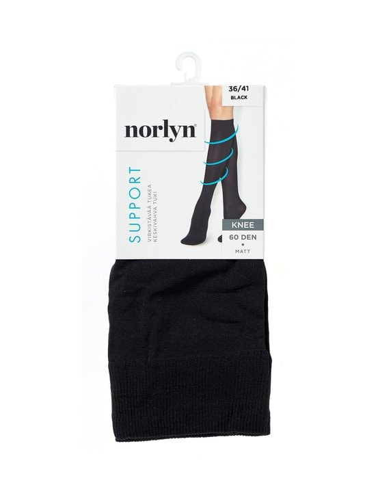 Norlyn - Tukipolvisukat 60 den - BLACK | Stockmann - photo 1