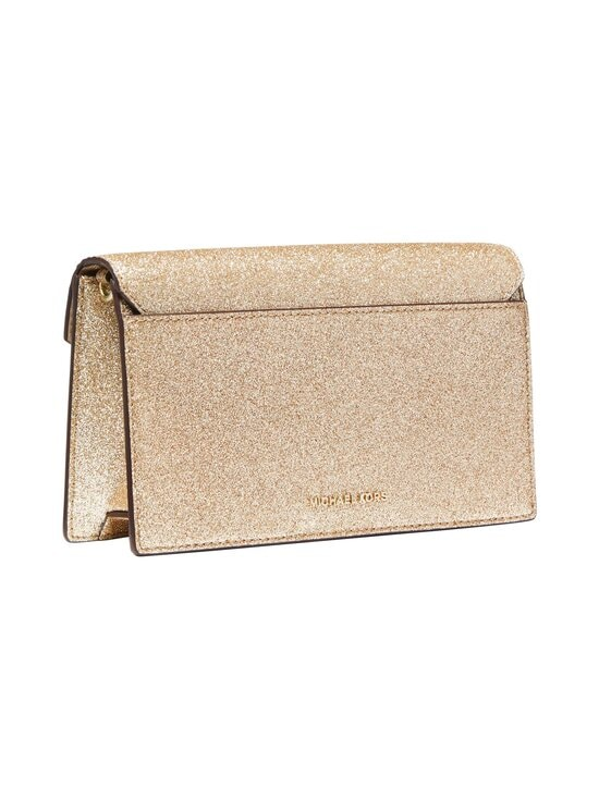 Michael Michael Kors - Grace Medium Glittered Leather Envelope Clutch -laukku - 740 PALE GOLD | Stockmann - photo 2