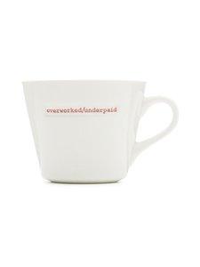 Keith Brymer Jones - Word Range Standard Bucket Mug -muki 0,35 l - WHITE | Stockmann