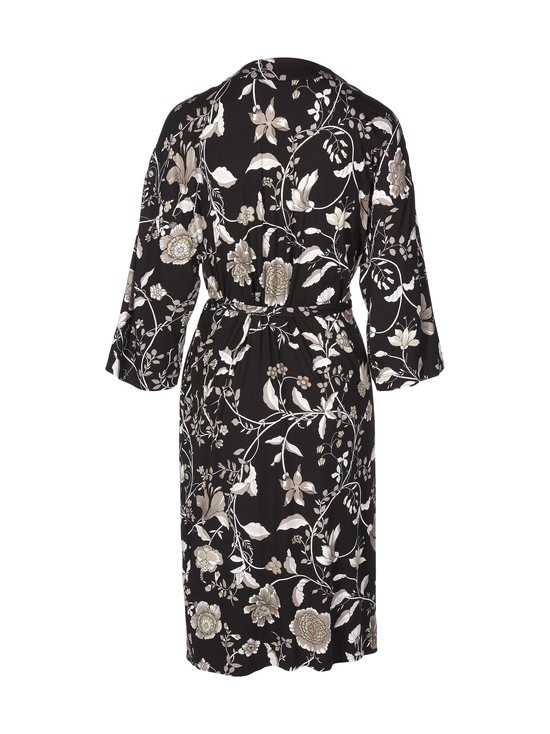 NOOM loungewear - Anna Printed Kimono -aamutakki - GREY FLOWER PRINT | Stockmann - photo 2