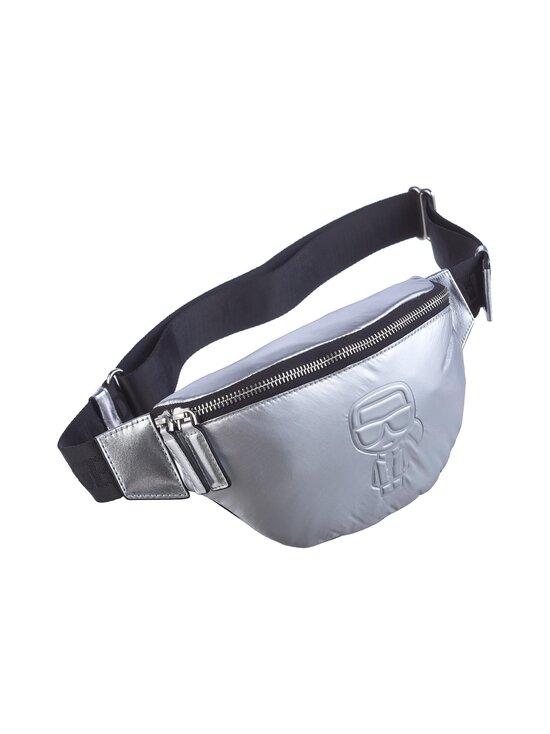 Karl Lagerfeld - K/Ikonik Nylon Bumbag Metallic -laukku - 290 SILVER | Stockmann - photo 2