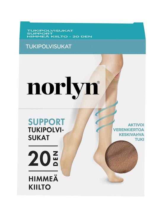 Norlyn - Support 20 den -polvisukat - IVORY | Stockmann - photo 1