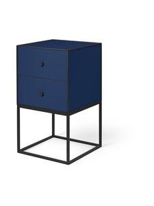 By Lassen - Frame Sideboard 35 -sivupöytä - DARK BLUE | Stockmann