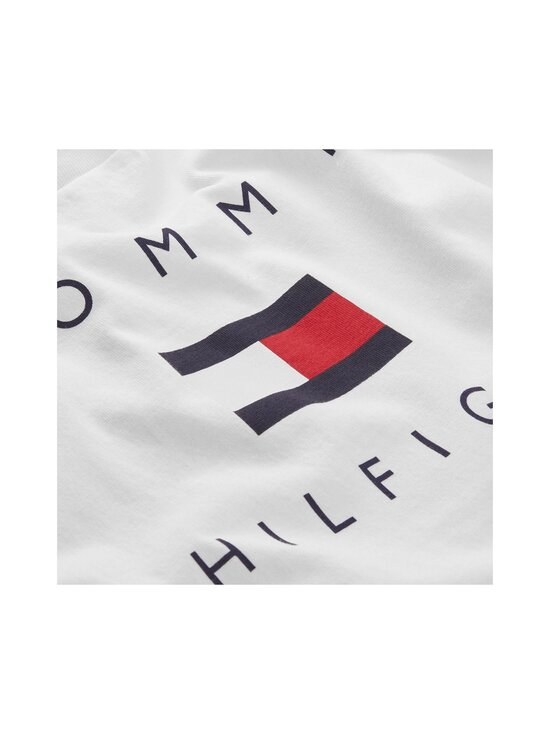 Tommy Hilfiger - TH Logo Tee -paita - YBR WHITE | Stockmann - photo 3