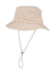 Knowledge Cotton Apparel - Safari Bucket Hat -kesähattu - 1228 LIGHT FEATHER GRAY | Stockmann