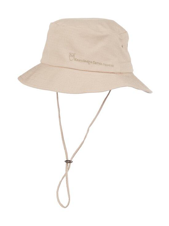 Knowledge Cotton Apparel - Safari Bucket Hat -kesähattu - 1228 LIGHT FEATHER GRAY | Stockmann - photo 1