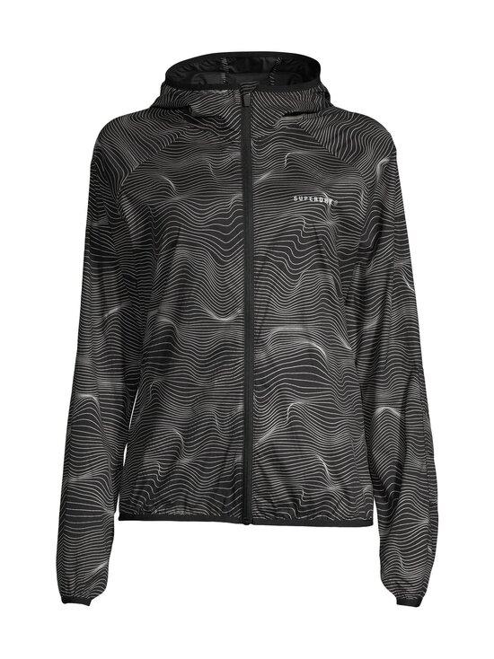 Superdry Sport - Running Superlight Jacket -takki - 4QR REFLECTIVE WAVES | Stockmann - photo 1