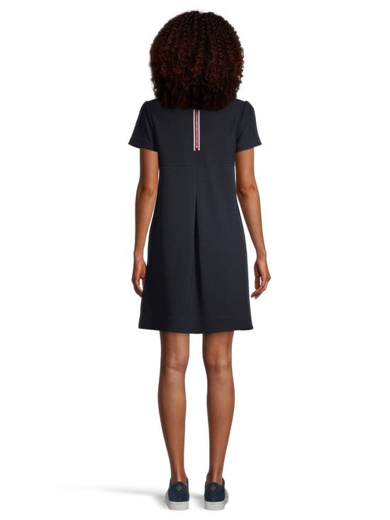 Tommy Hilfiger - Stella Textured Shift Dress -mekko - DW5 DESERT SKY | Stockmann - photo 3