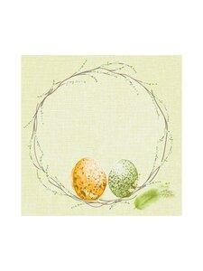 Duni - Easter Pasture -servetti 33 x 33 cm, 20 kpl - GREEN | Stockmann