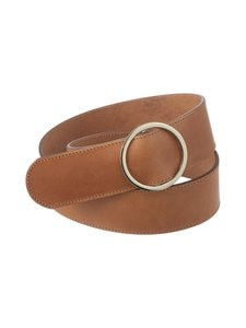 Balmuir - Buckle Belt -nahkavyö - 480 COGNAC | Stockmann