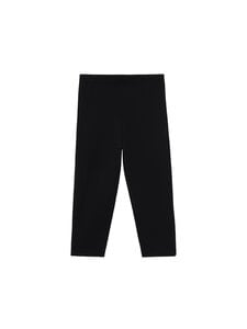 Totême - CROPPED COMPACT KNIT -leggingsit - BLACK   Stockmann